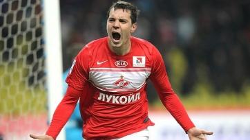 «Спартак» хотел бы сдать Дзюбу в аренду до конца сезона