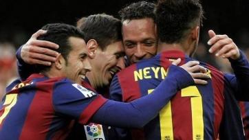 «Барселона» второй раз в сезоне забила «Леванте» пять мячей
