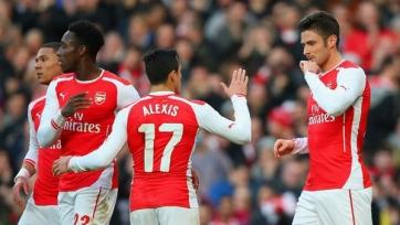 «Арсенал» ожидаемо вышел в четвертьфинал Кубка Англии