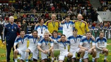 Сборная России обыграла Португалию и выиграла Кубок Легенд