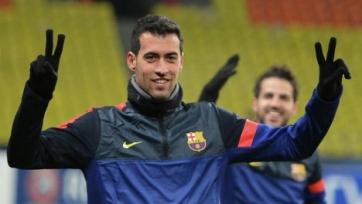 Серхио Бускетс готов продлить контракт с «Барселоной»