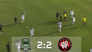 «Краснодар» упустил победу над «Атлетико Паранаэнсе»