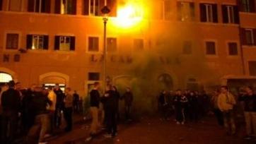 Фанаты «Фейеноорда» устроили беспорядки в Риме