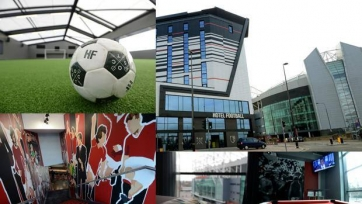 Райан Гиггз и Гэри Невилл открыли отель Hotel Football