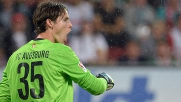 Вратарь принес «Аугсбургу» ничью в матче с «Байером»