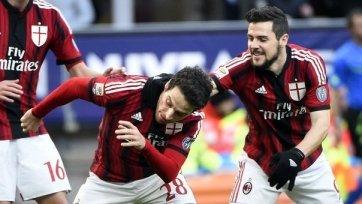 «Милан» продолжает борьбу за место в еврокубках
