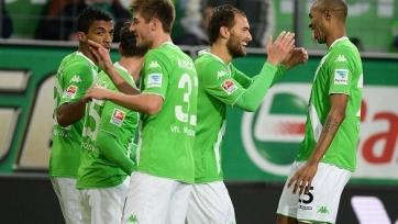 «Вольфсбург» благодаря дублю Доста обыграл «Герту»