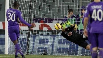 «Фиорентина» сыграла дома вничью с «Торино»