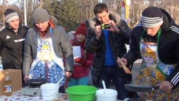 Дмитрий Вязьмикин взялся за блины