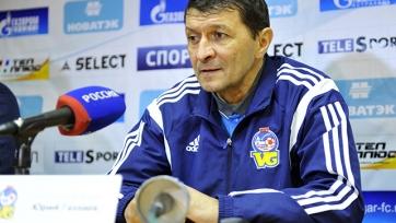 Юрий Газзаев: «Надеюсь, сделали шаг к тому, чтобы построить хорошую команду»