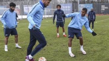 Четыре футболиста «Зенита» пропустили предыгровую тренировку