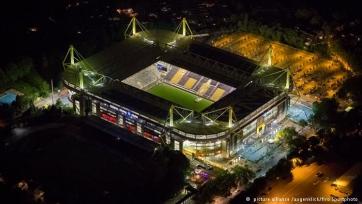 На стадионе дортмундской «Боруссии» обнаружена бомба!