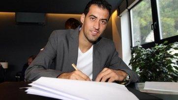 Серхио Бускетс остается в «Барселоне» еще на четыре года!