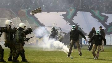 В Греции временно отменены матчи трех профессиональных футбольных лиг