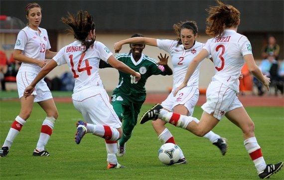 Пас каблуком. Что такое женский футбол