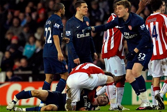 Жестокие игры. Самые тяжелые травмы в истории футбола