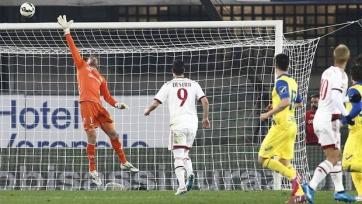 «Милан» снова провалил экзамен