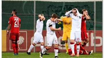 «Байер» дожал «Кайзерслаутерн» и пробился в четвертьфинал немецкого Кубка