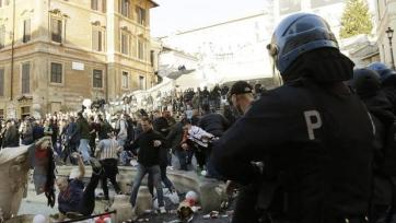 Болельщики «Фейеноорда» накуролесили в Риме на 5,2 миллиона евро