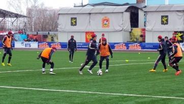 ЦСКА к матчу против «Терека» готовится на поле с искусственным покрытием