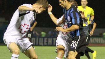 «Волынь» довольствуется ничьей в матче с «Черноморцем»