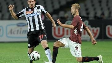 «Торино» в упорной борьбе проиграл «Удинезе»