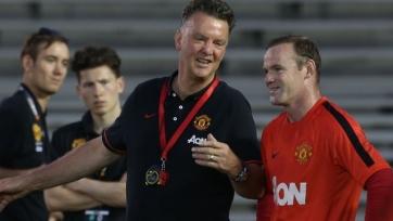 Ван Гаал: «Знаю, что Руни хочет завоевать Кубок Англии»