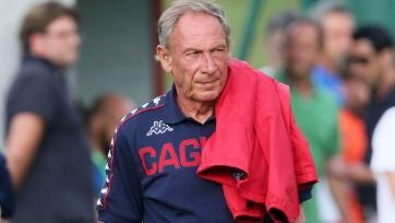Земан вернулся на тренерский мостик в «Кальяри»