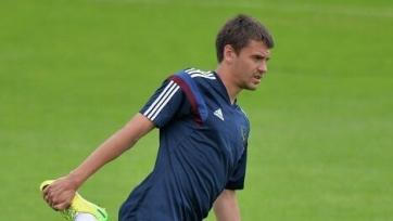 Георгий Щенников начал тренироваться