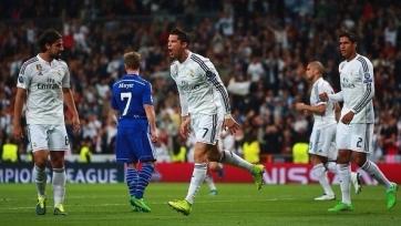 «Шальке» забил четыре гола на «Бернабеу», но дальше идет «Реал»