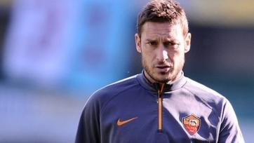 Франческо Тотти может пропустить первый матч 1/8 финала Лиги Европы