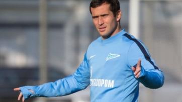 Александр Кержаков вновь не сыграет за «Зенит»