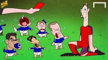 Ибрагимович: «Было такое чувство, что 11 младенцев окружили меня и требовали арбитра показать красную карточку»