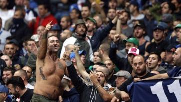 На фанатов «Динамо» напали неаполитанские тифози
