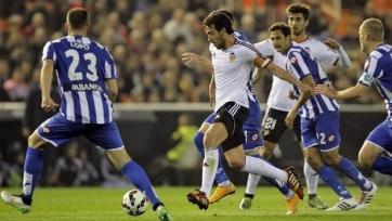 «Валенсия» переиграла «Депортиво»