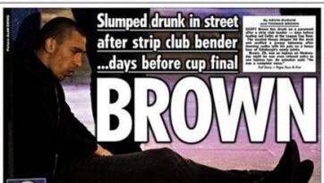 Капитан «Селтика» Скотт Браун оскандалился в Эдинбурге