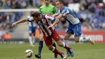 «Эспаньол» отобрал очки у «Атлетико»