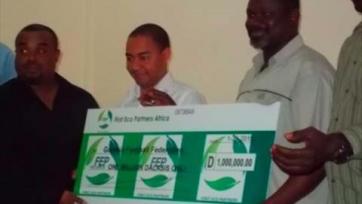 Гамбийский футбол обзавелся спонсором