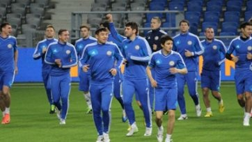 Казахстан определился с заявкой на матч против России