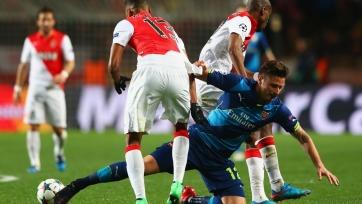 «Арсенал» выиграл на «Луи II», но дальше идет «Монако»