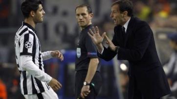 Массимилиано Аллегри похвалил свою команду