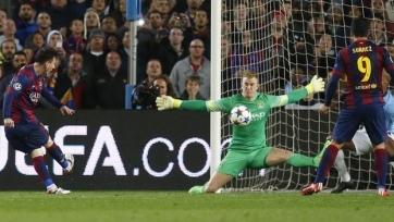 «Барселона» в восьмой раз подряд вышла в четвертьфинал ЛЧ