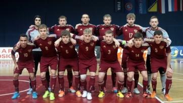 Сборная России по футзалу стартовала с победы