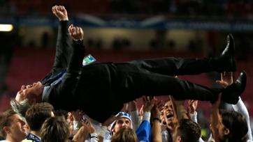 Главный тренер «Реала» отобедал вместе со своими футболистами