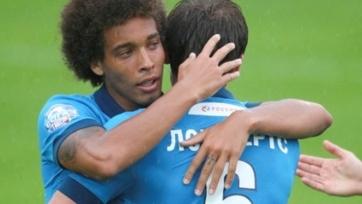 Витсель и Ломбертс вызваны в ряды сборной Бельгии