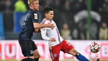 «Гамбург» снова проиграл «Герте»