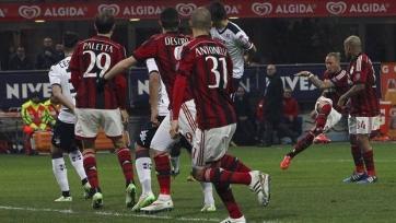 «Милан» выполнил месячную норму по победам