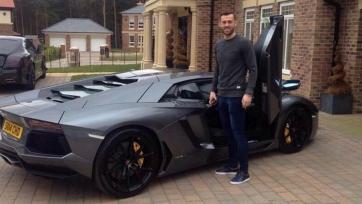 Стивен Флетчер приобрел Lamborghini