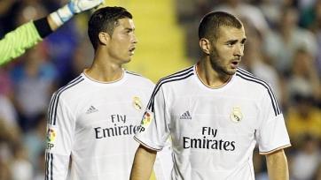 Директор «Реала» доволен Роналду и Бензема