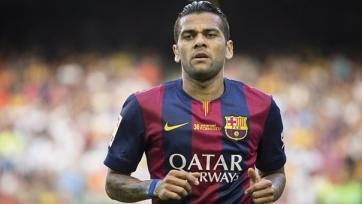 «Барселона» надеется удержать Дани Алвеса